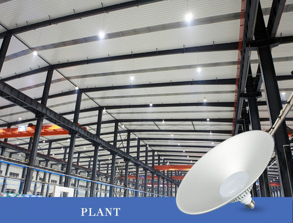 Led Highbay Light E27 Lamp Ceiling Lamp Factory Lights Industrial Lighting  Supermarket Lights Warehouse Waterproof 20w