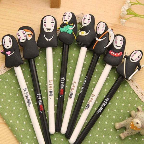 20pcs/Lot Cartoon Gel Pens Cute Pen for Writting Office Supply Stationery Student Child Christmas Present Gift Prize Free Shipping