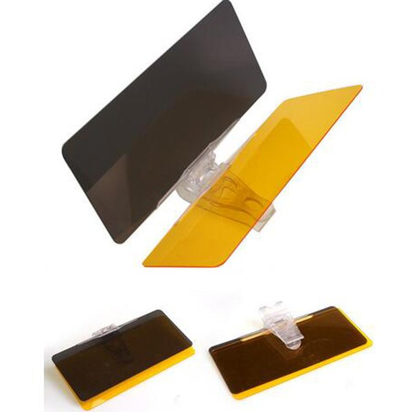 2016 Car Day and Night Sunshade Night Vision Goggles Day and Night Anti-dazzle Car Sunshade Easy Setup Clip Car Sun Shade