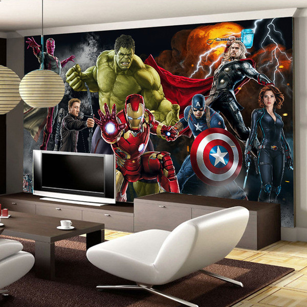 Mural Pared Vengadores