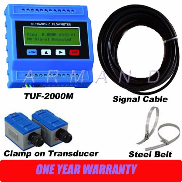 Ultrasonic Liquid flowmeter TUF-2000M DN50-700mm Module Digital Flow Meter TM-1 Transducer
