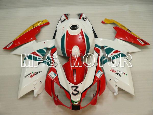 Venda quente apto para Aprilia RS125 2006-2011 06 07 08 09 10 11 molde de plástico ABS nova carenagem kit de carroçaria