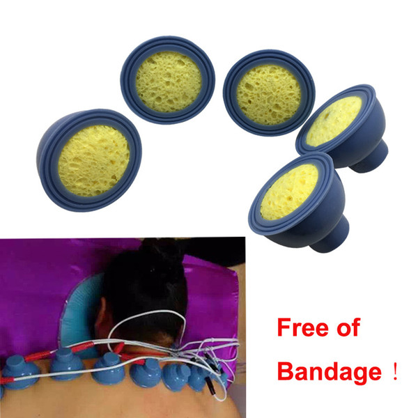 10 pcs 5.7cm*5.7cm Electrode Pads for Tens EMS Unit with 2mm Connector for Slimming Massage Digital Therapy Machine Massager
