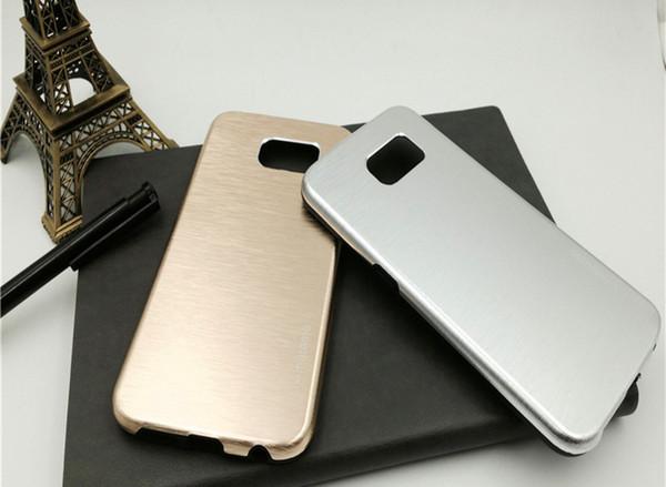 Pour Apple Iphone 6S 64S 5S 5SE 2016 Nouveau Design Motomo Cas de Téléphone Portable PC + Silicone Matériel Couvre Le Téléphone Pour Samsung S6 S6edge S7 S7edge Note
