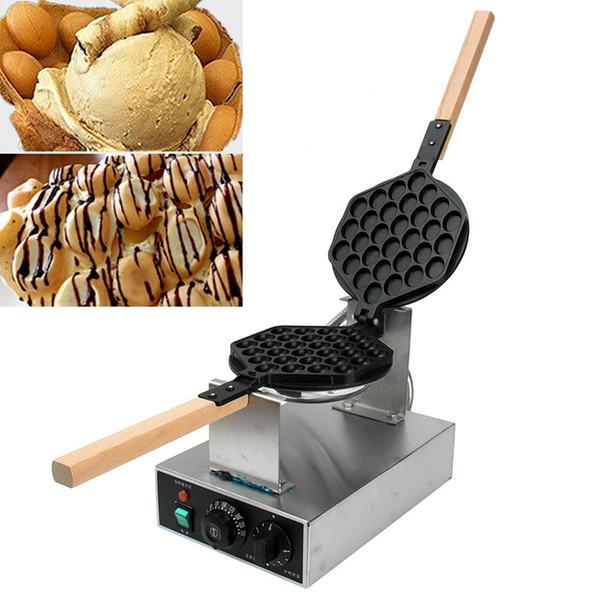 220v/110v HongKong Egg Waffle Makers Machine Egg Puffs Maker Bubble Waffle High Quality DIY Cooking Kitchen Appliances