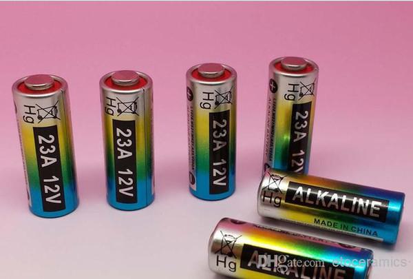 2000 pçs / lote, 12 V 23A .A23 bateria alcalina para campainha, controle remoto, produto de segurança, MP3, walkman, brinquedos, isqueiro
