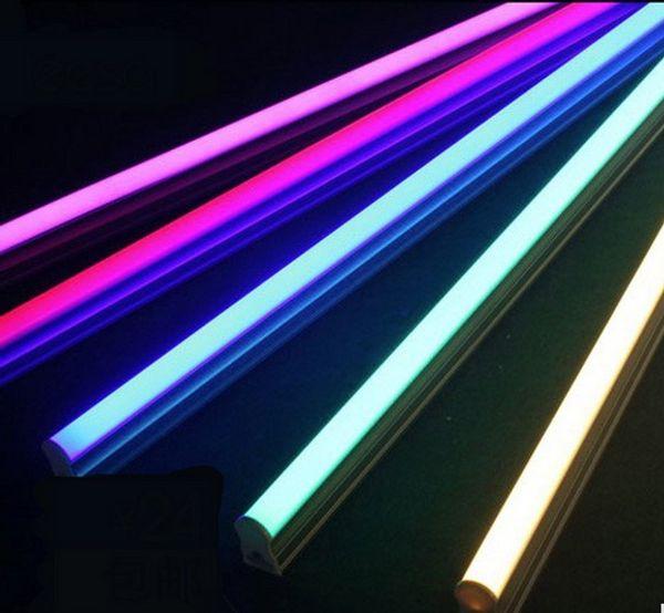 Tubo led multicolor iluminación T5 tanque verde rojo ktv T8 linterna lámpara