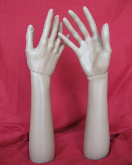 glove display hands,Mannequins Hand Arm Display Base Female Gloves Jewelry Model,Freeshipping M00493