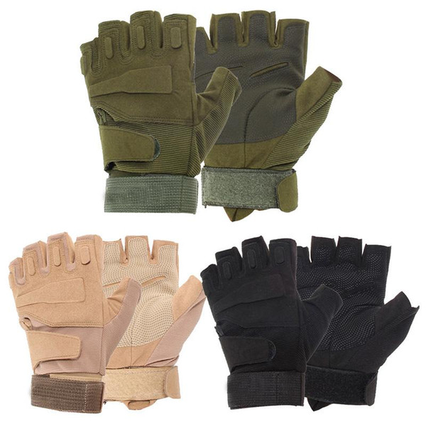Outdoor Military Tactical Gloves Air Soft Breathable Hunting Cycling Gloves Army Mittens Gym Fitness Exercise Training Gloves