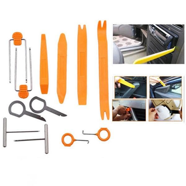 12pcs Car Radio Door Clip Panel Tool Kit For Mitsubishi ASX Lancer Pajero Sport Outlander Honda Civic Fit City Car Accessories
