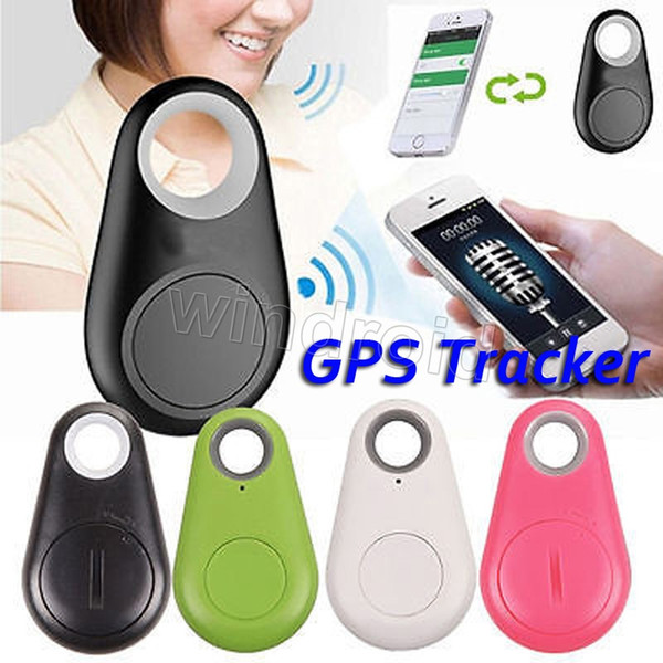 Mini Wireless Phone Bluetooth 4.0 GPS Tracker Alarm iTag Key Finder Voice Recording for Anti-lost Selfie Shutter For ios Android Smartphone