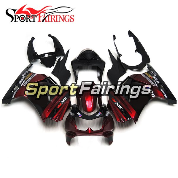 White Black Red New Injection Fairings For Kawasaki Ninja 250 2008-2012 08-12 ABS Plastics Motorcycle Full Fairing Kit Cowling