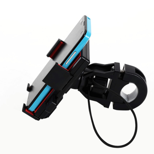 New 360 Degree Rotatable Bicycle Bike Phone Holder Handlebar Clip Stand Mount Bracket For iPhone Samsung Cellphone GPS MP4 MP5