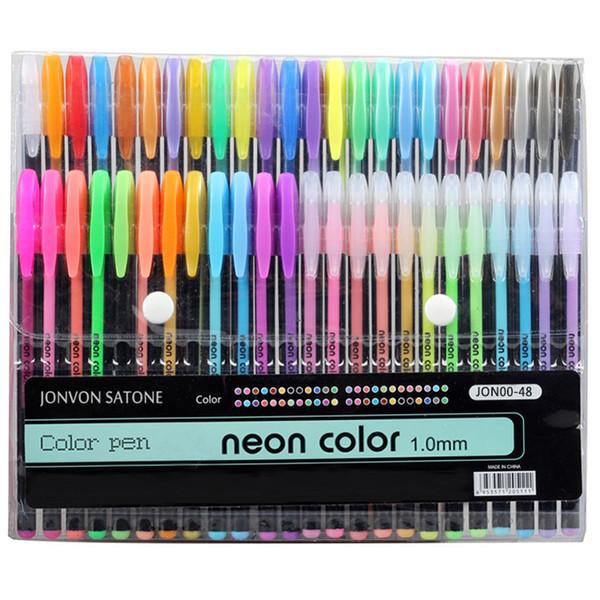 48 colors sketch pen marker painting drawing stationery color line pen kawaii Art markers sketch crafts brush pens set Gifts