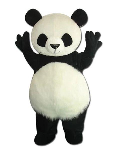 Acheter Panda Mascotte Costume Kung Fu Panda Dessin Animé Animal Costume Panda Mascotte De Haute Qualité Halloween Costume Bizarre Costume Livraison