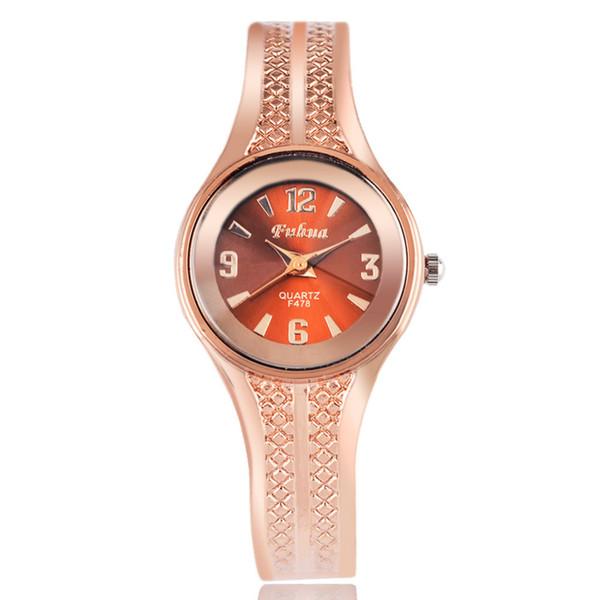 A5 Newest New hot sell Fashion women quartz watches rose gold ladies Bangle Watch popular designer wrist watches relogio feminino