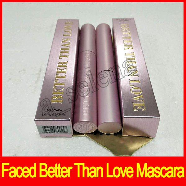 2017 Newest Hot Faced Mascara Better Than Love Better Than sex mind--blowing lashes thick fiber long roll waterproof dhl free shipping