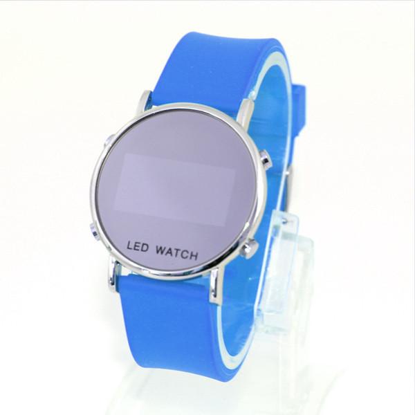 Hersteller verkaufen Großhandel Hot Burst Modelle LED neue Spiegel Tischspiegel Tisch Mode Persönlichkeit Uhren