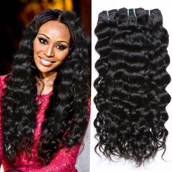 100 Original Hair Products 7a Peruvian Virgin Hair Water Wave Wet