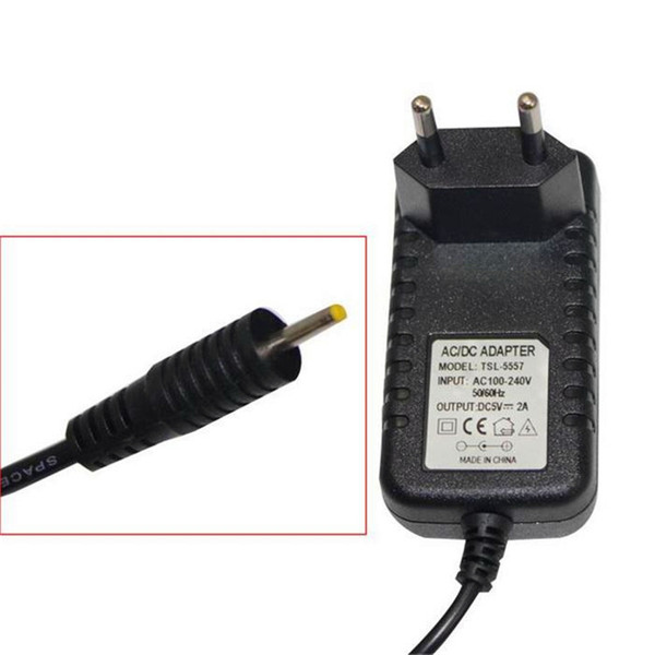Free Shipping DC 5V 2A/2000mah AC Power Adapter Wall Charger For Android Tablet PC With Round 2.5mm Jack US/EU Plug