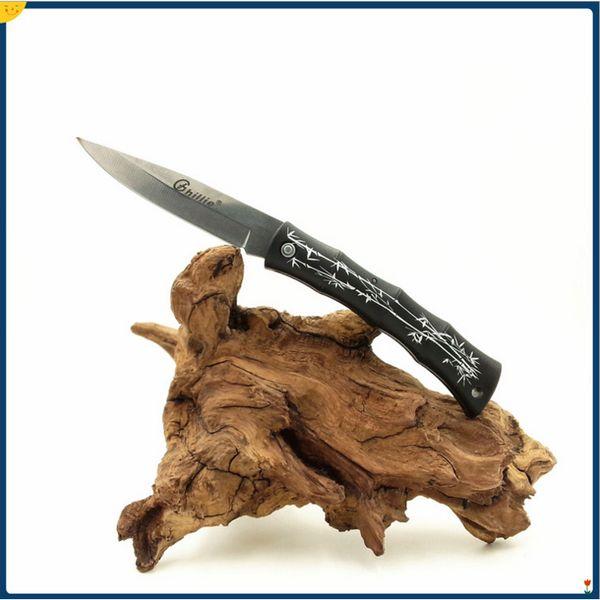 best selling 2016 NewGhillie EDC Pocket Folding Blade Knives Fruit knife ABS Handle Knife Mini Pocket Survival Knife knives Cheap price gift Free DHL