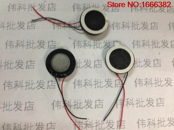 Toptan-1 ADET Telefon hoparlör 1W8R çapı 15mm kalınlığı 4mm cep telefonu hoparlör