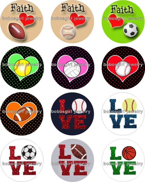 Free shipping Football Baseball Snap button Jewelry Charm Popper for Snap Jewelry good quality 12pcs / lot Gl211 jewelry making