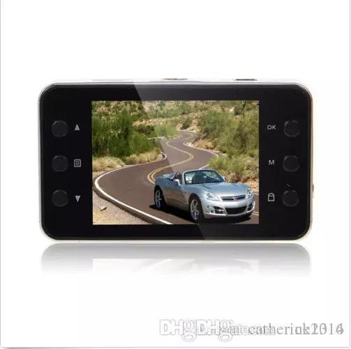 K6000 1080P Full HD LED Night Recorder Dashboard Vision Veicular Camera dashcam Carcam video Registrator Car DVR