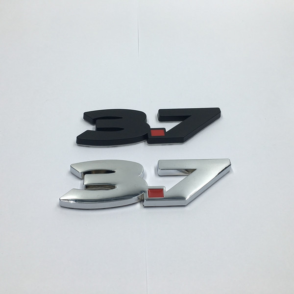 2011-2014 pour Ford Mustang V6 3,7 litres 3,7 litres noir rouge Fender emblème insigne en métal