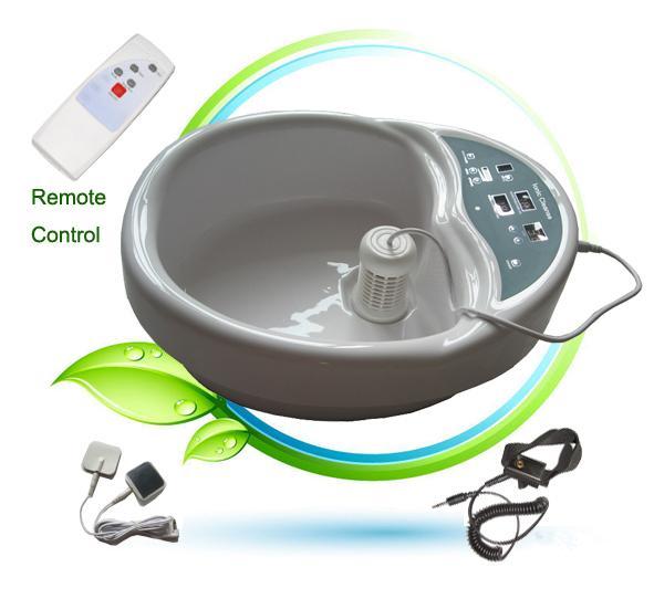 Hot Ion Cleanser Free Shipping By DHL/Fedex/UPS/EMS C03 TENS PADS High Ionic Cleaner Detox Machine Footbath Foot Spa Salon Machine
