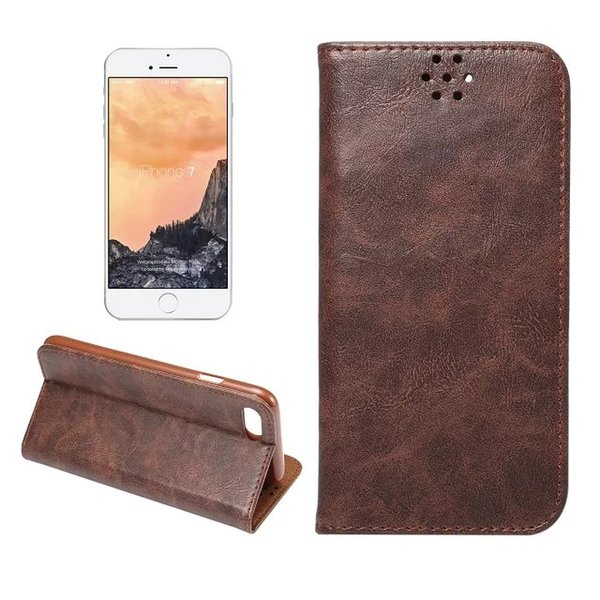 PU Leather Case for iPhone 7/Plus for Note7 With Magnetic Force Colorful Wallet Cover Card Slot Flip Stand Shell 50 PCS/UP