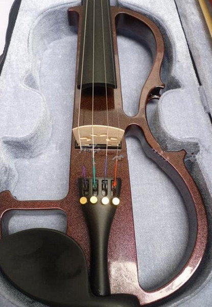 top popular violin 4 4 High quality electric violin handcraft violino Musical Instruments violin Brazil Wood bow 2021