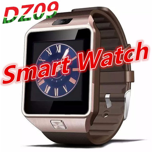 top popular DZ09 Smart Watch Clock With Sim TF Card Slot Bluetooth suitable for ios Android Phone Smartwatch or A1 GT08 X6 Q18 2019