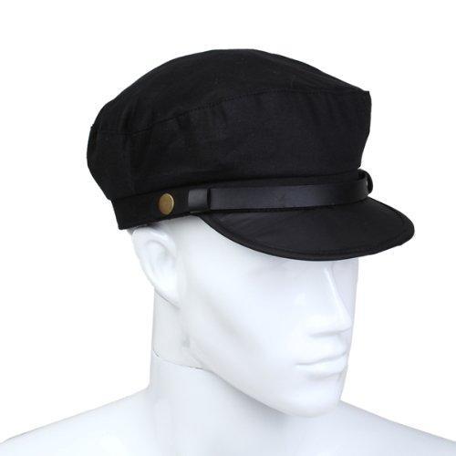 Wholesale-SYB 2016 NEW Captain Sailor Marine Cap Cotton Color Black Men New
