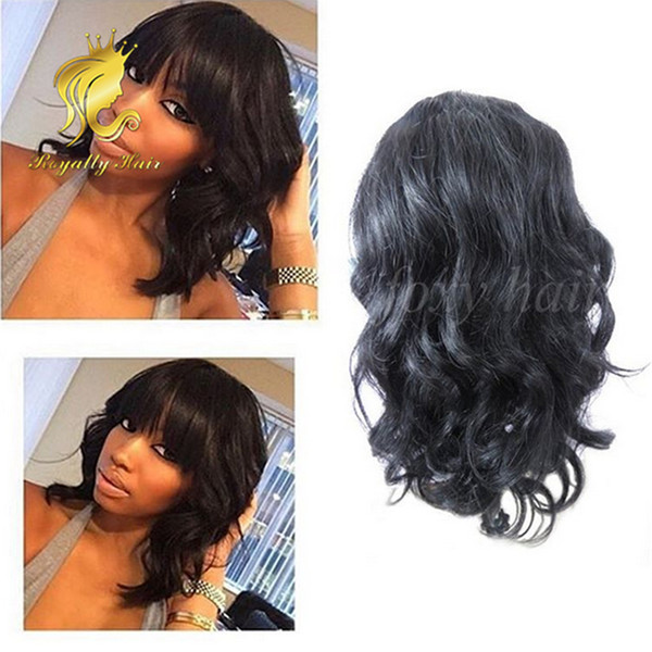 Glueless Body Wave Lace Front Human Hair