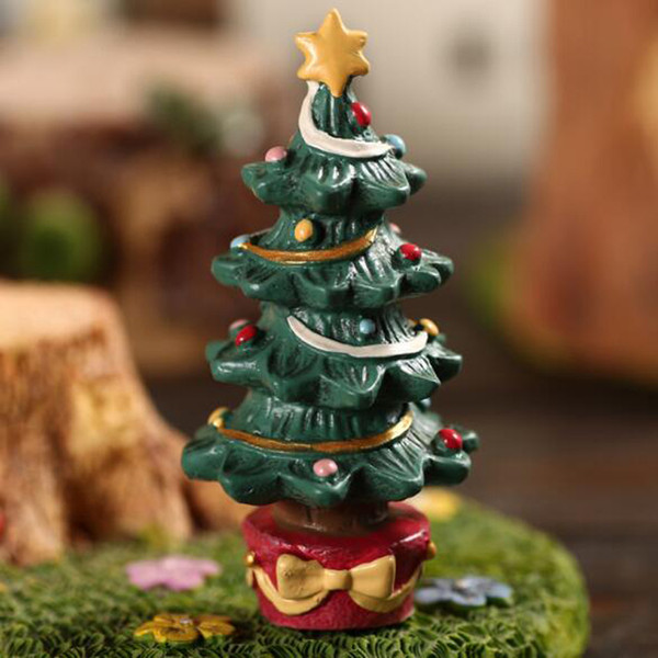 Christmas Tree Decorations Cute Christmas Animal Gift Box Decoration Supplies Christmas Figurine With Box Arts and Crafts