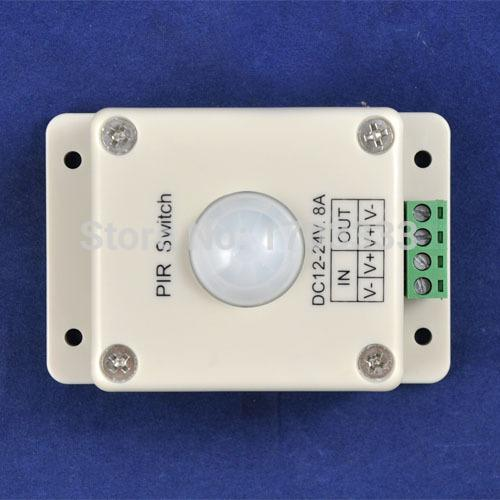 Wholesale 50PCS LED light Human Body Induction Switch,led infrared detection sensor switch controller PIR Switch #TC45