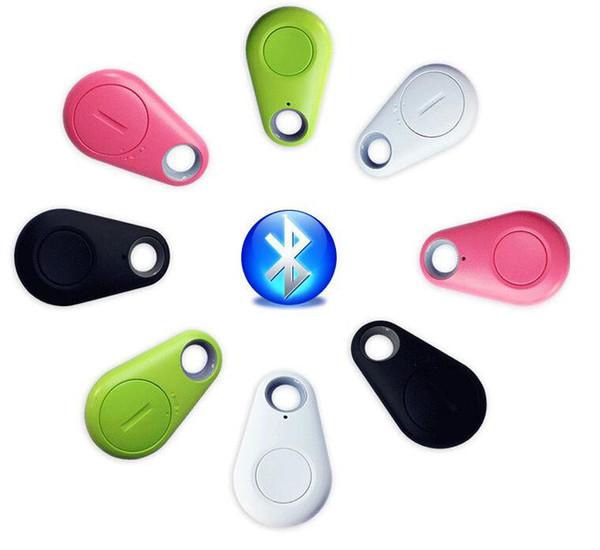 Anti-kayıp Akıllı Bluetooth Tracker Çocuk Çanta Cüzdan Key Finder GPS Locator Alarmı 4 Renkler Pet Telefon Araç Kayıp Hatırlatma