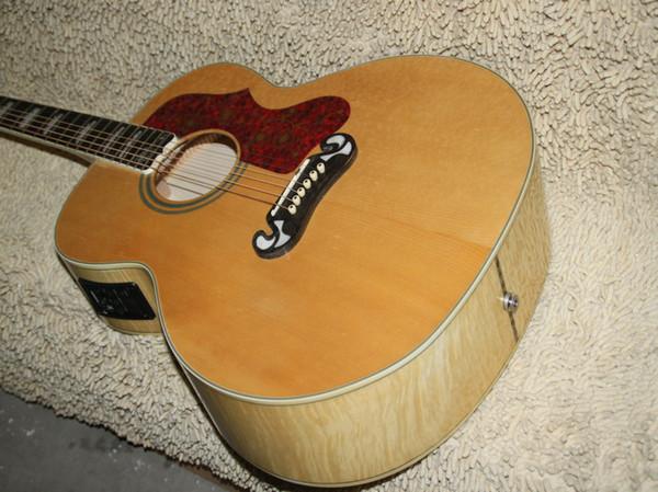 Chitarra elettrica nuova 6 corde della chitarra acustica del pino 200 che spedice liberamente