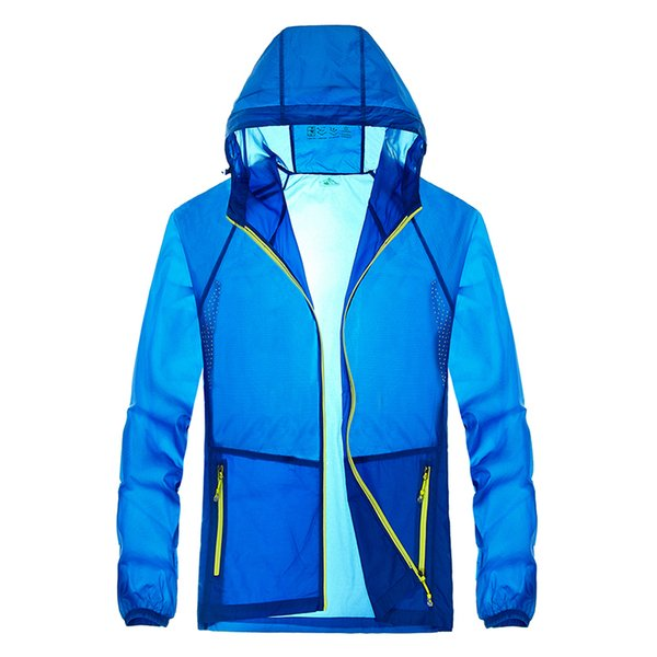 Brand Man Jacket Coat Slim Quick Dry Casual Simple Jacket Coat for Mens Boys Males Jacket Fashion Leisure