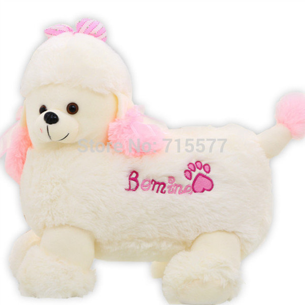 1 piece small size 20 cm cartoon Creative girl child baby dog stuffed plush toys pillow doll Children's birthday present