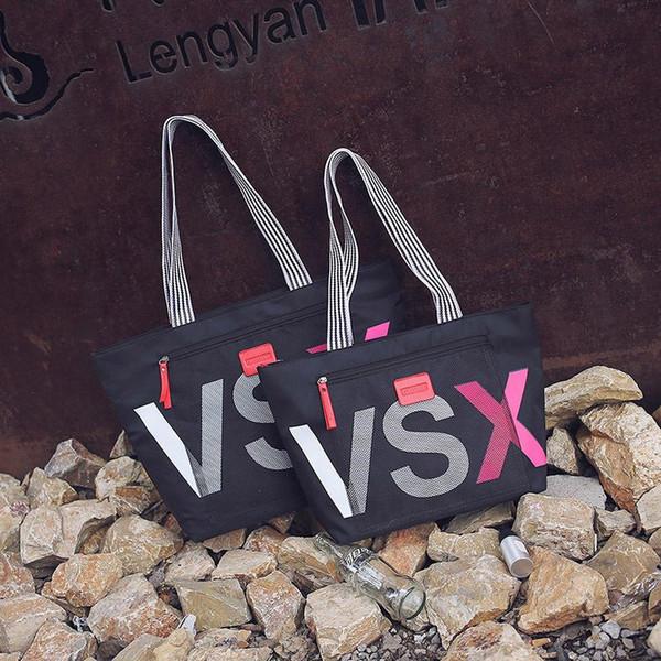 Famous Brand Fashion Handbags Travel Bag Designer Casual Letter Women Large Capacity Shoulder Bag Waterproof Beach Big Black Bags