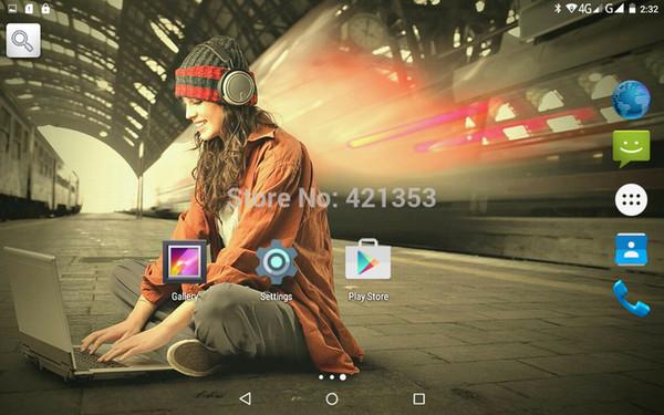 """2016 Mais Novo de 9.7 Polegada Tablet PC 3G 4G Lte Núcleo octa 4 GB de RAM 32 GB ROM Dual SIM 5MP Android 5.1 GPS Tablet PC 10 """"7"""""""