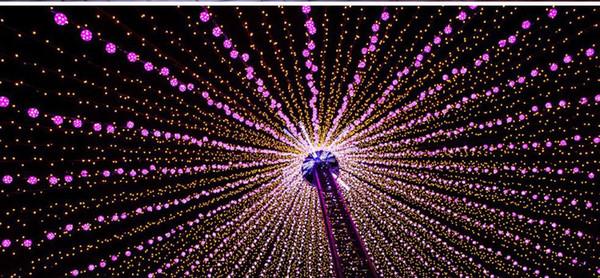 Christmas Light Bulbs.50m Led Light Bulbs Christmas Decorations Outdoor Led Christmas Lights Led Projector Home Garden Party Ornaments Flash Led Lights Ul List Outdoor