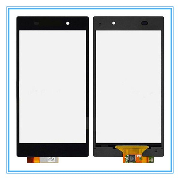 Original Black Replacement For Sony Xperia Z1 L39 L39H C6902 C6903 Touch Screen Digitizer Sensor Panel Front Glass Lens Free Shipping