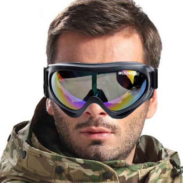 UV Koruma Spor Kayak Snowboard Skate Gözlük Gözlük Motosiklet Off-Road Kayak Gözlüğü Gözlük Gözlük Renkli Lens Ücretsiz Kargo