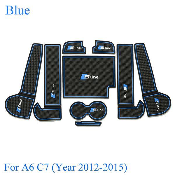Синий для нового A6 C7