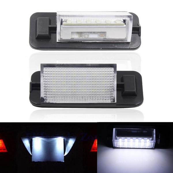 2X Fehlerfrei 18 LED 3528 SMD Kennzeichenbeleuchtung Auto Lampen Externe Lampen Auto Zubehör Fit Für BMW 3er E36 1992-1998