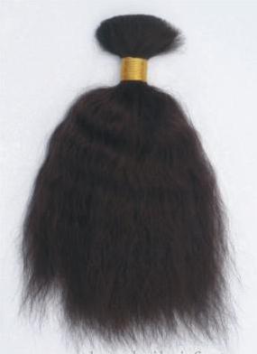 завивка супер волнистые человеческие волосы оптом с очень мягкой и шелковистой текстурой, 100 г / пучок, очень модель и молодой чувствовать