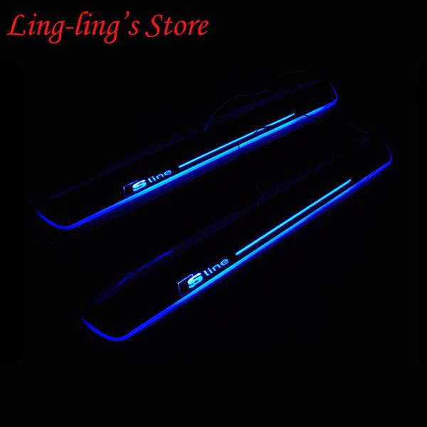 Синий освещение